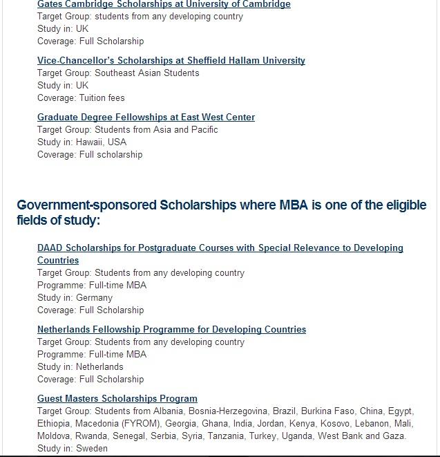 MBA scholarship 3